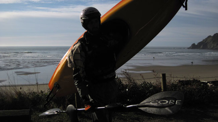 sea kayaking on the oregon coast