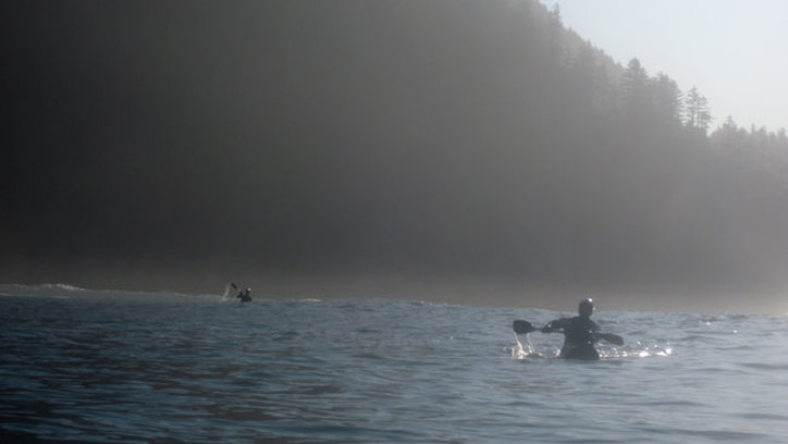 kayaking the oregon coast