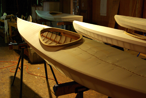 skin on frame kayaks in the shop