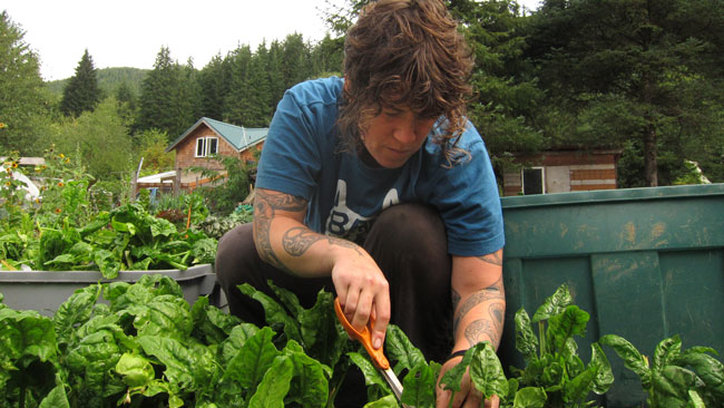 Organic off-grid farming in oregon