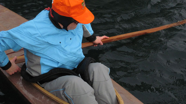 Using a Greenland Paddle