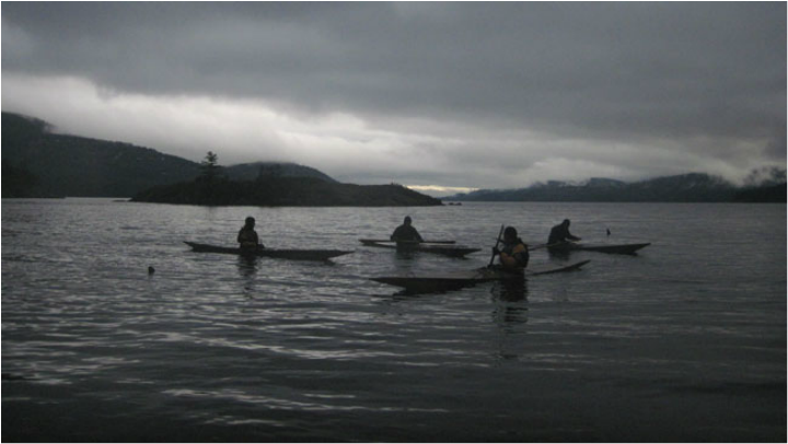 Skin on Frame kayaks orcas island