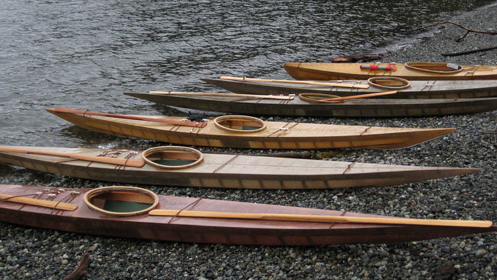 Cape Falcon skin on frame kayaks